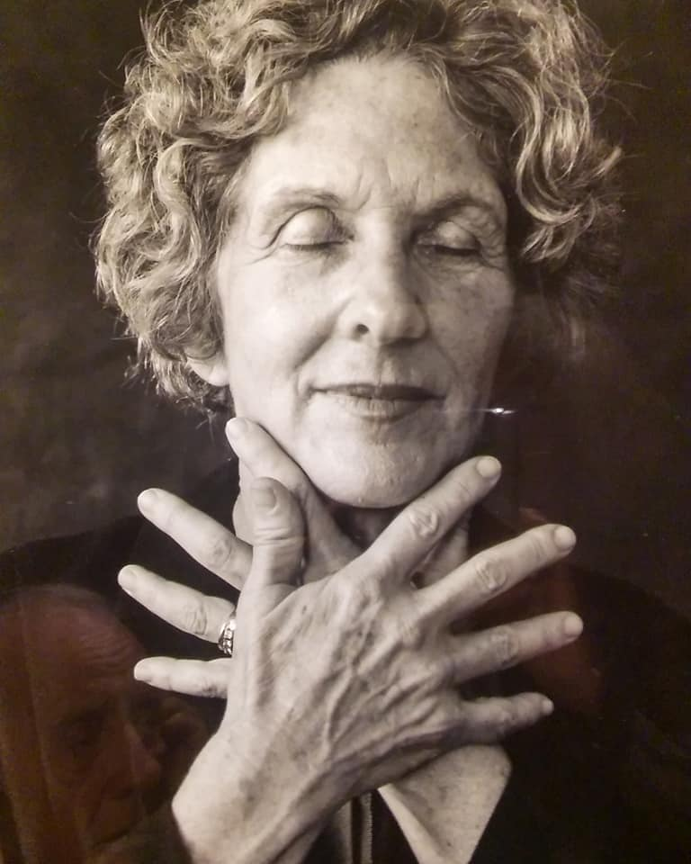 This photo of Ann is from My Heart is Not Blind, a collection of stunning portraits and essays of people with vision loss taken by photographer Michael Nye and published by Trinity University Press.
